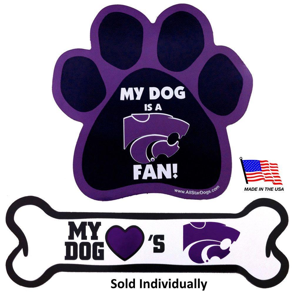 Kansas State Car Magnets - Furry Friend Frocks