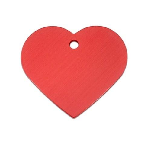 Large Standard Heart Id Tag - Furry Friend Frocks