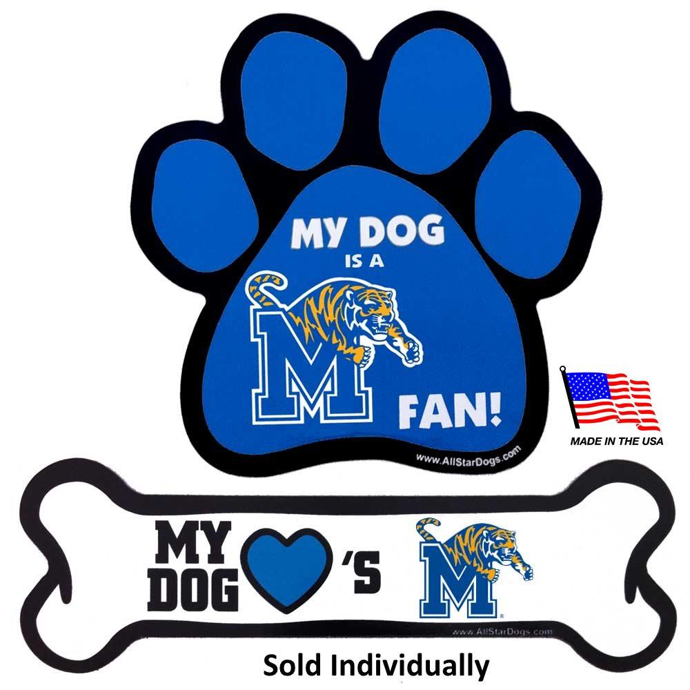 Memphis Tigers Car Magnets - Furry Friend Frocks