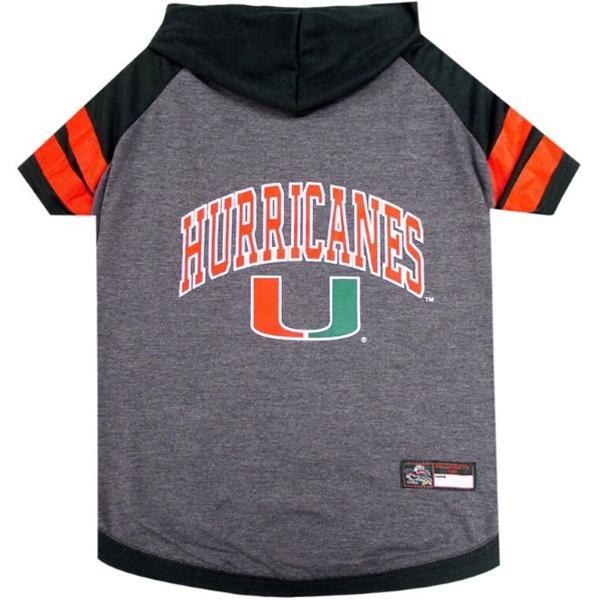 Miami Hurricanes Pet Hoodie T - Furry Friend Frocks