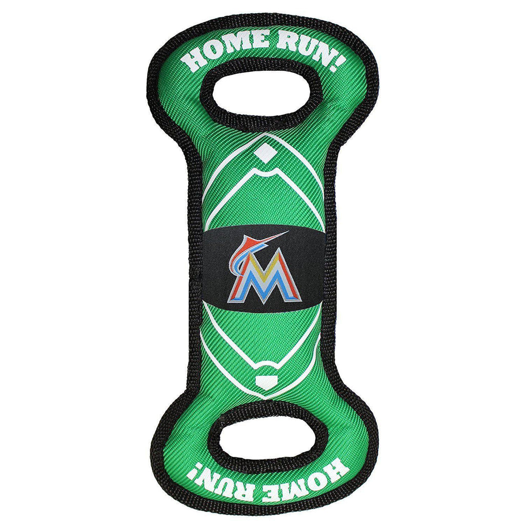 Miami Marlins Field Pull Pet Toy - Furry Friend Frocks