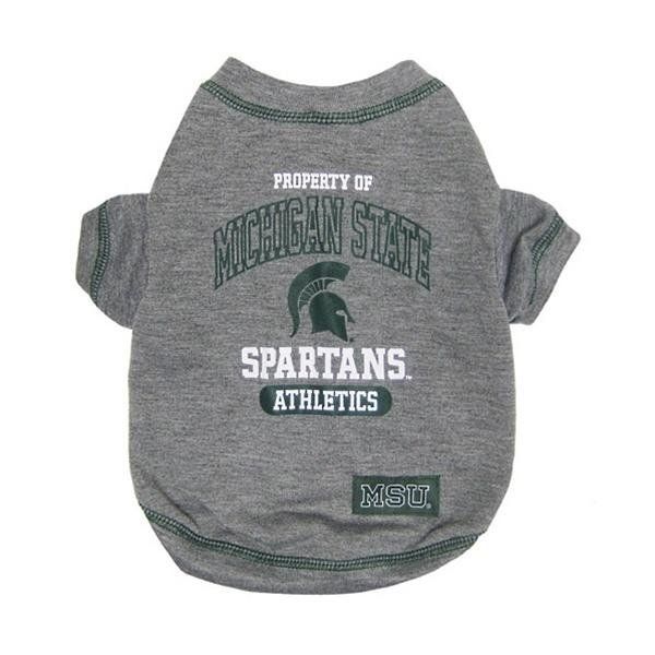 Michigan State Spartans Dog T - Furry Friend Frocks