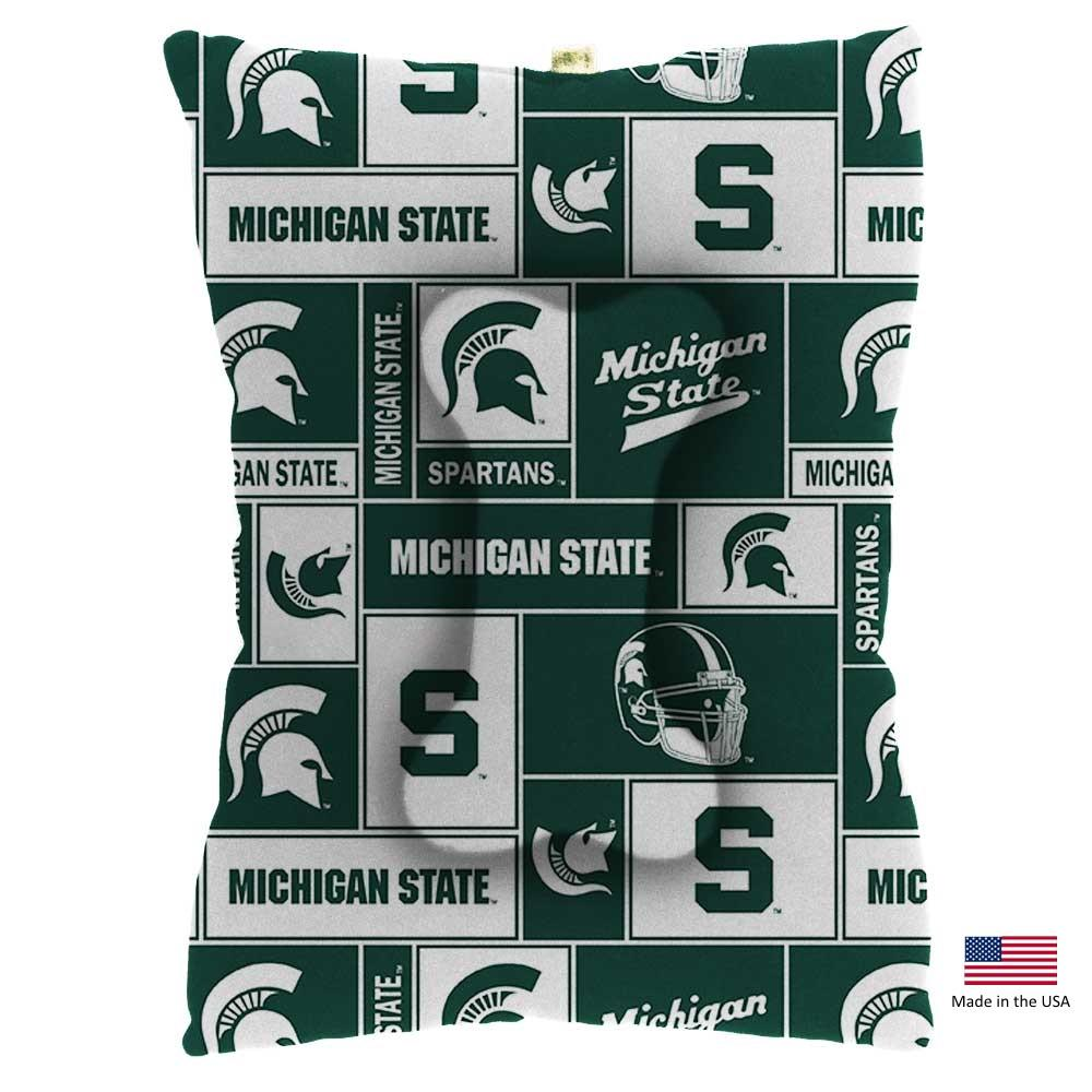 Michigan State Spartans Pet Slumber Bed - Furry Friend Frocks