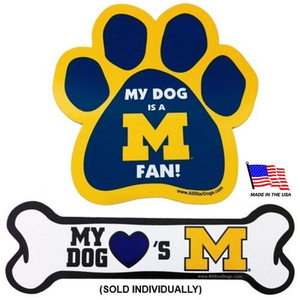 Michigan Wolverines Car Magnets - Furry Friend Frocks