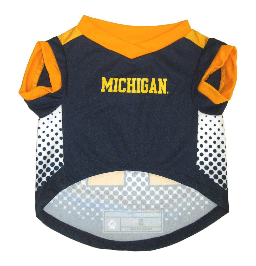 Michigan Wolverines Pet Performance Tee - Furry Friend Frocks