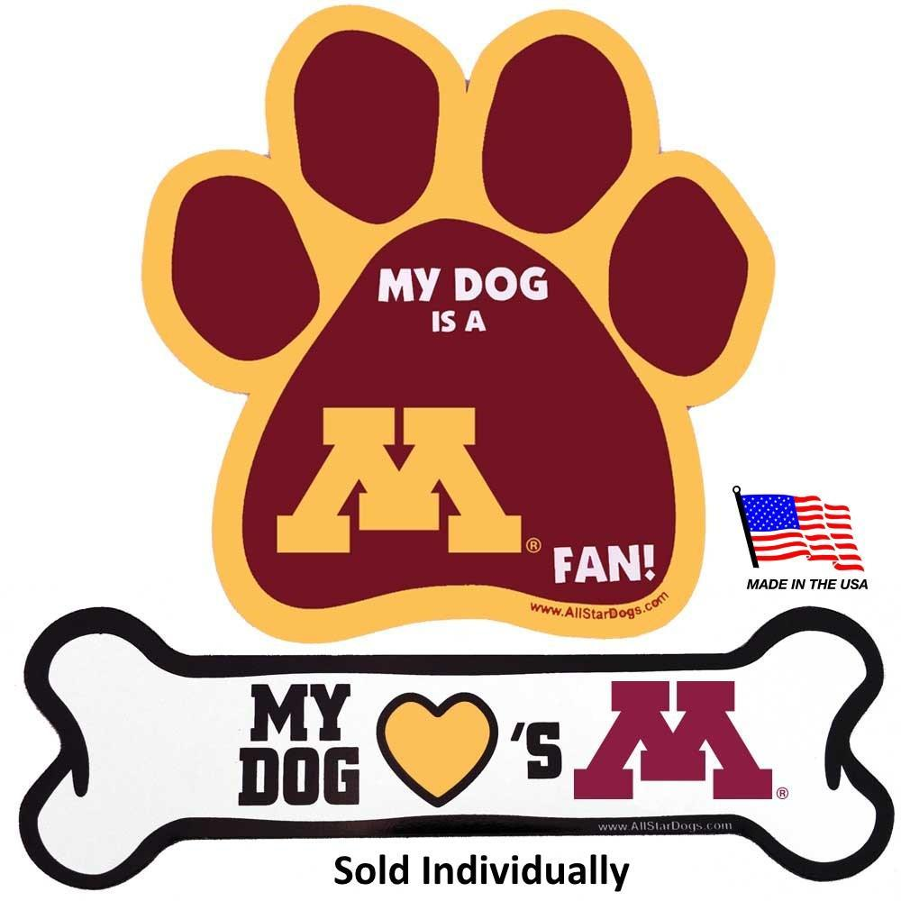 Minnesota Golden Gophers Car Magnets - Furry Friend Frocks