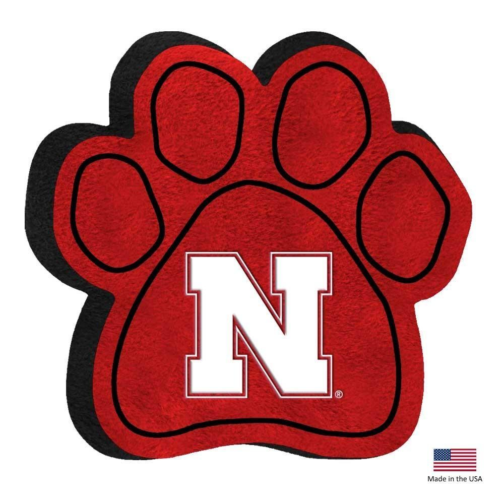 Nebraska Huskers Paw Squeak Toy - Furry Friend Frocks