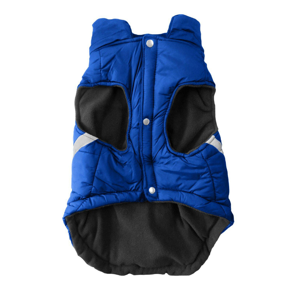 New York Rangers Pet Puffer Vest - Furry Friend Frocks