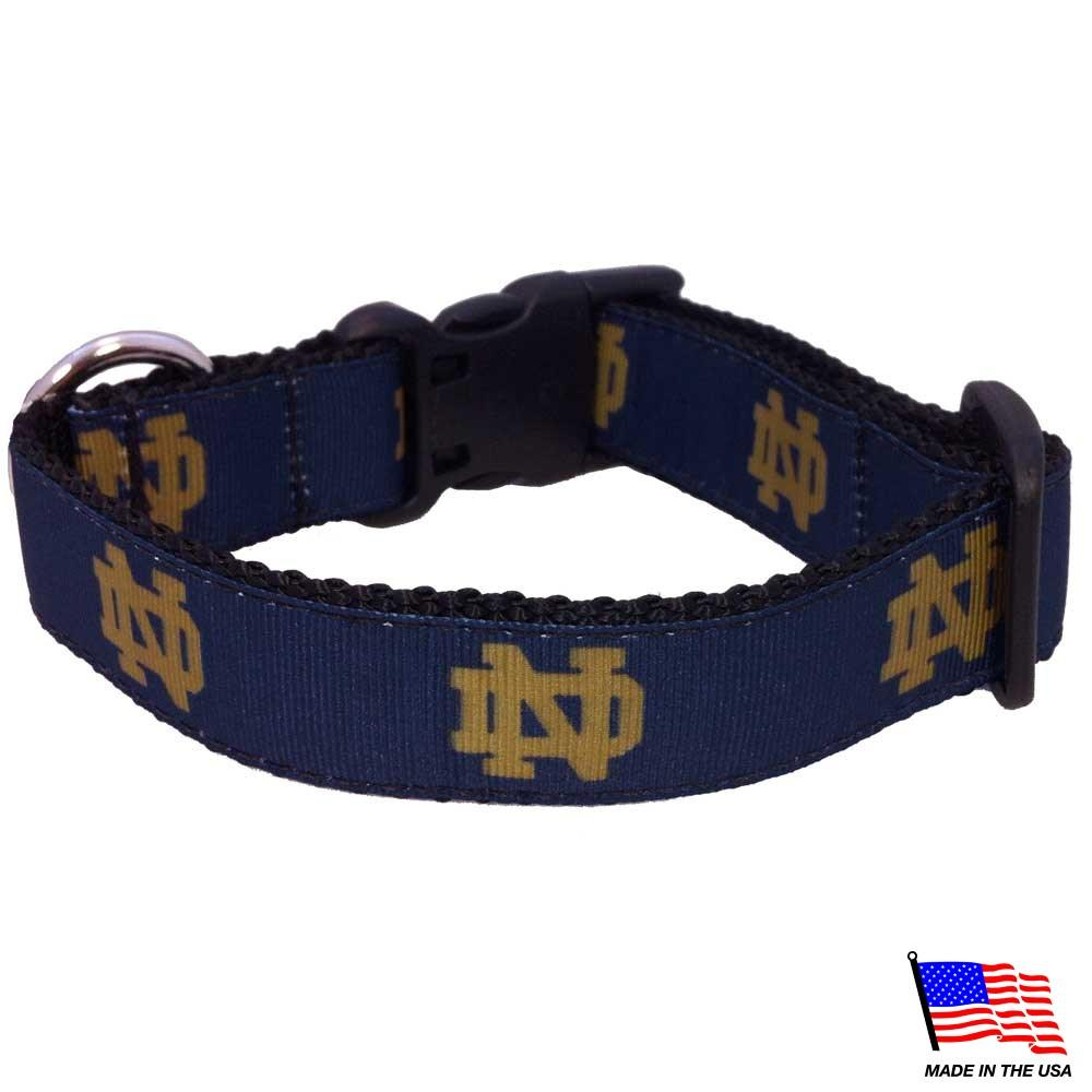 Notre Dame Fighting Irish Pet Collar - Furry Friend Frocks