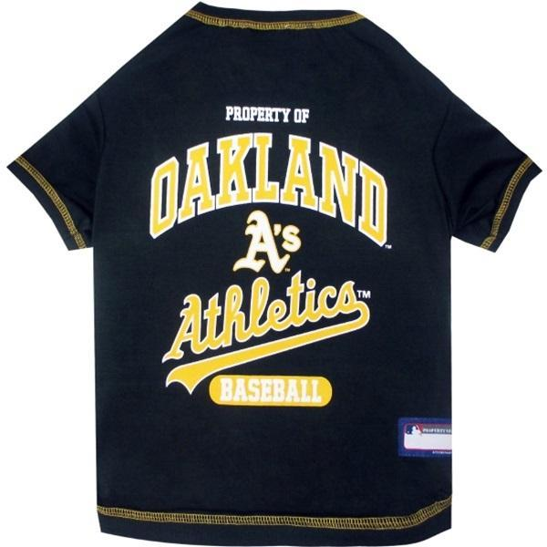 Oakland A's Green Pet T - Furry Friend Frocks