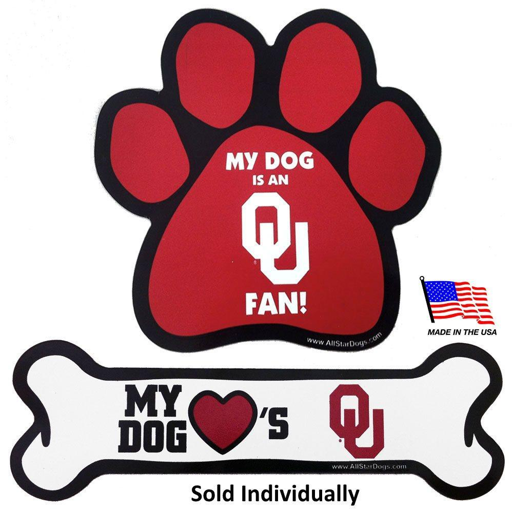 Oklahoma Sooners Car Magnets - Furry Friend Frocks