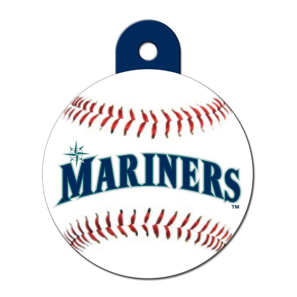 Seattle Mariners Large Circle Id Tag - Furry Friend Frocks