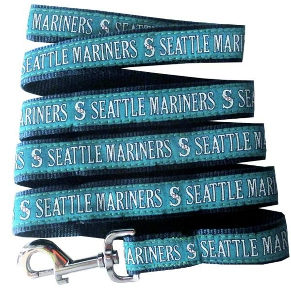 Seattle Mariners Pet Leash By Pets First - Furry Friend Frocks