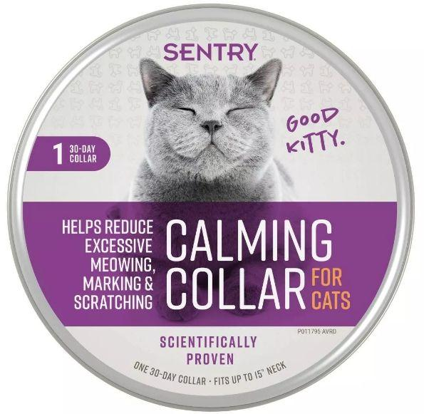 Sentry Calming Collar for Cats-Health Aids-Furry Friend Frocks
