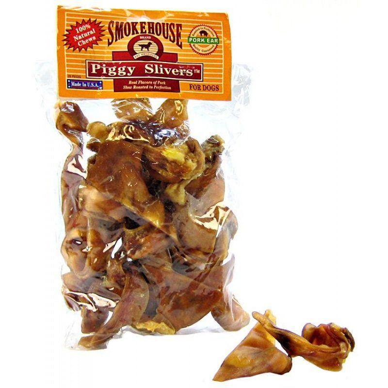 Smokehouse Treats Piggy Slivers-Made in the USA Dog Treats-Furry Friend Frocks