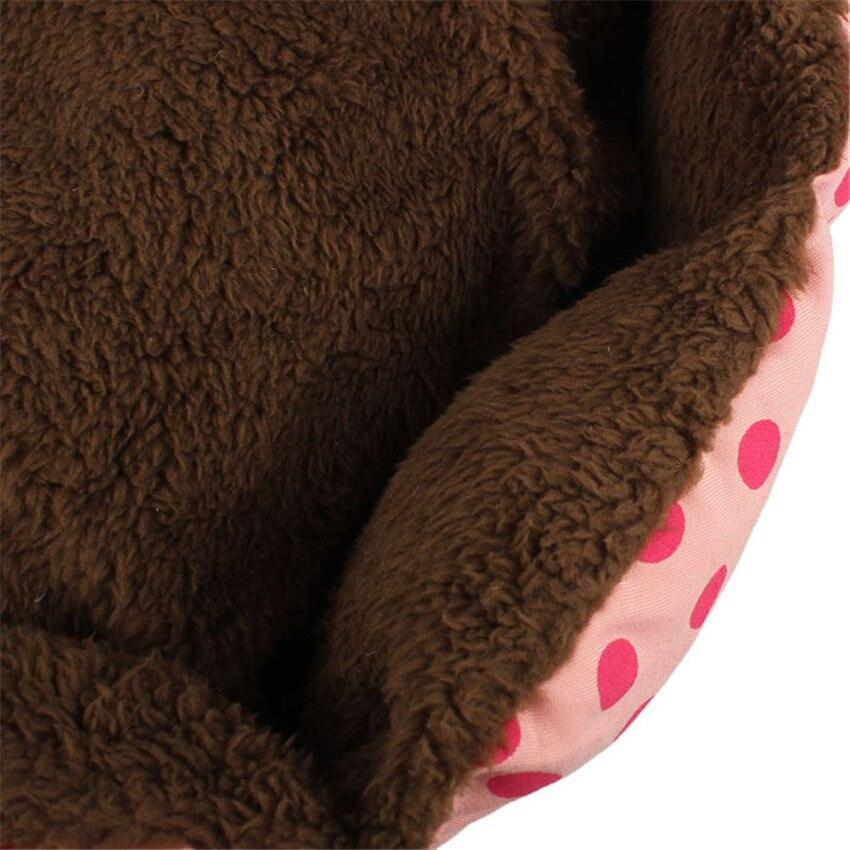 New Hot New Lovely Little Dog Beds/Mats Soft Flannel Pet Dog Puppy Cat Warm Plush Bed Cozy Nest Mat Pad Dropshipping