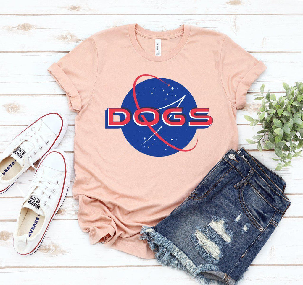 Space Dogs T-shirt - Furry Friend Frocks