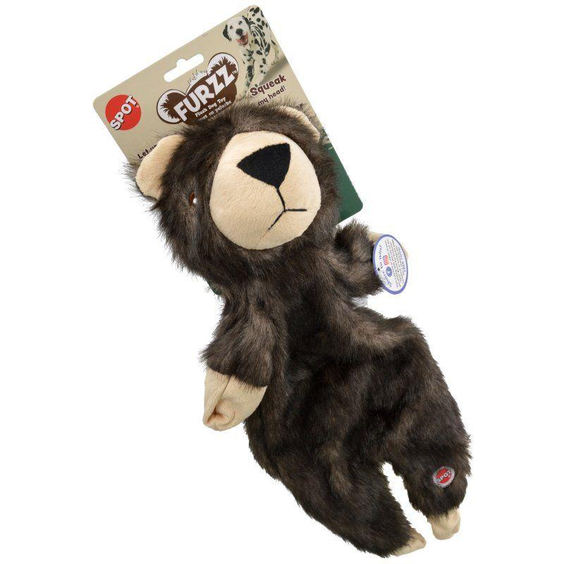 Spot Furzz Bear Dog Toy-Toys Sheepskin & Cloth-Furry Friend Frocks