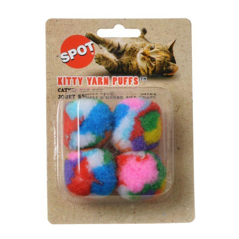 Spot Spotnips Yarn Puffballs Cat Toys-Toys Other-Furry Friend Frocks