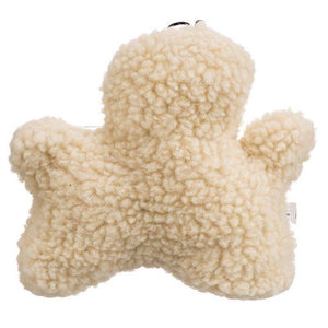 Spot Vermont Style Fleecy Man Shaped Dog Toy-Toys Sheepskin & Cloth-Furry Friend Frocks