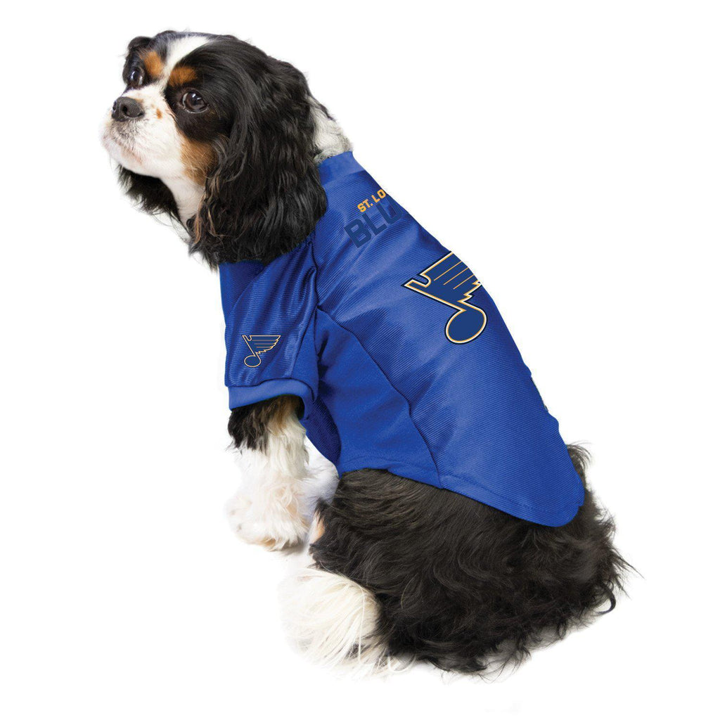 St. Louis Blues Pet Stretch Jersey - Furry Friend Frocks