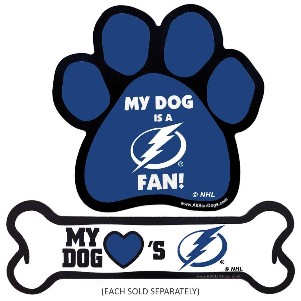 Tampa Bay Lightning Car Magnets - Furry Friend Frocks