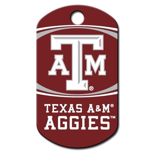 Texas A&m Aggies Military Id Tag - Furry Friend Frocks