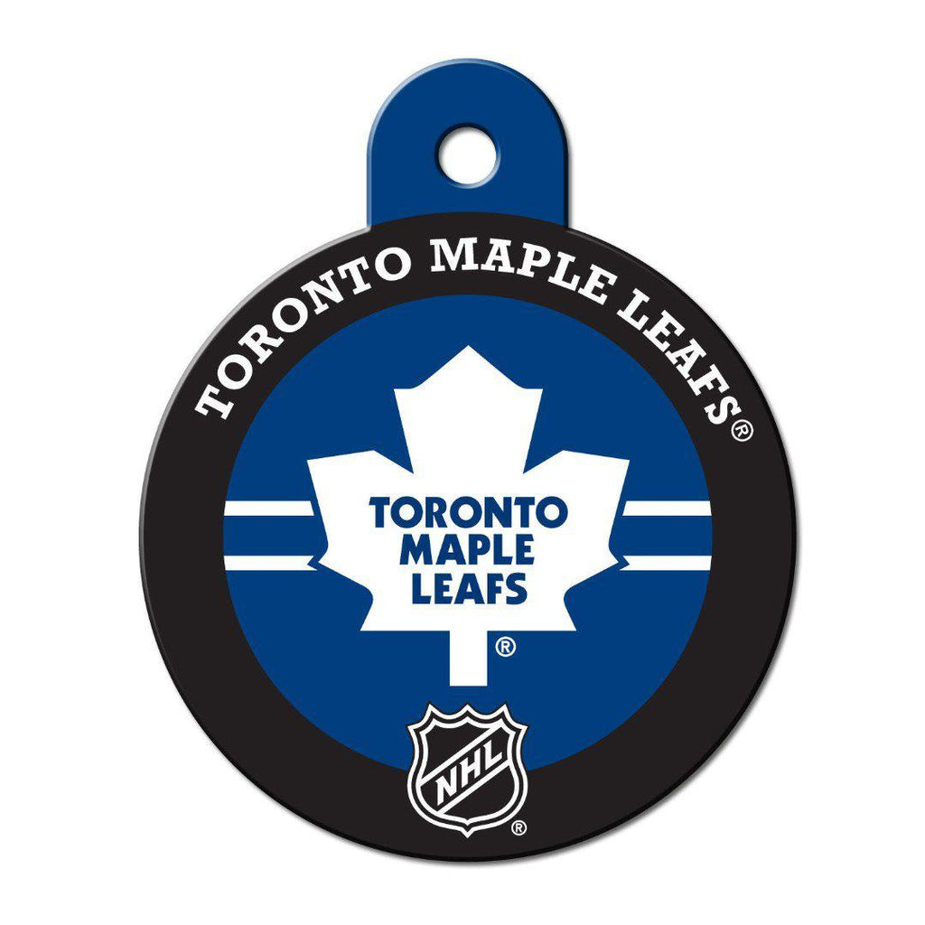 Toronto Maple Leafs Circle Id Tag - Furry Friend Frocks