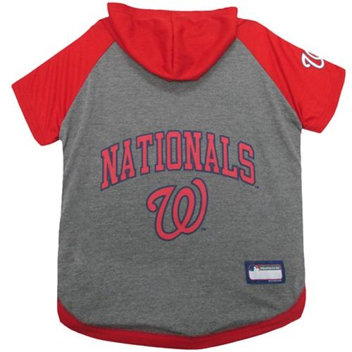 Washington Nationals Pet Hoodie T - Furry Friend Frocks