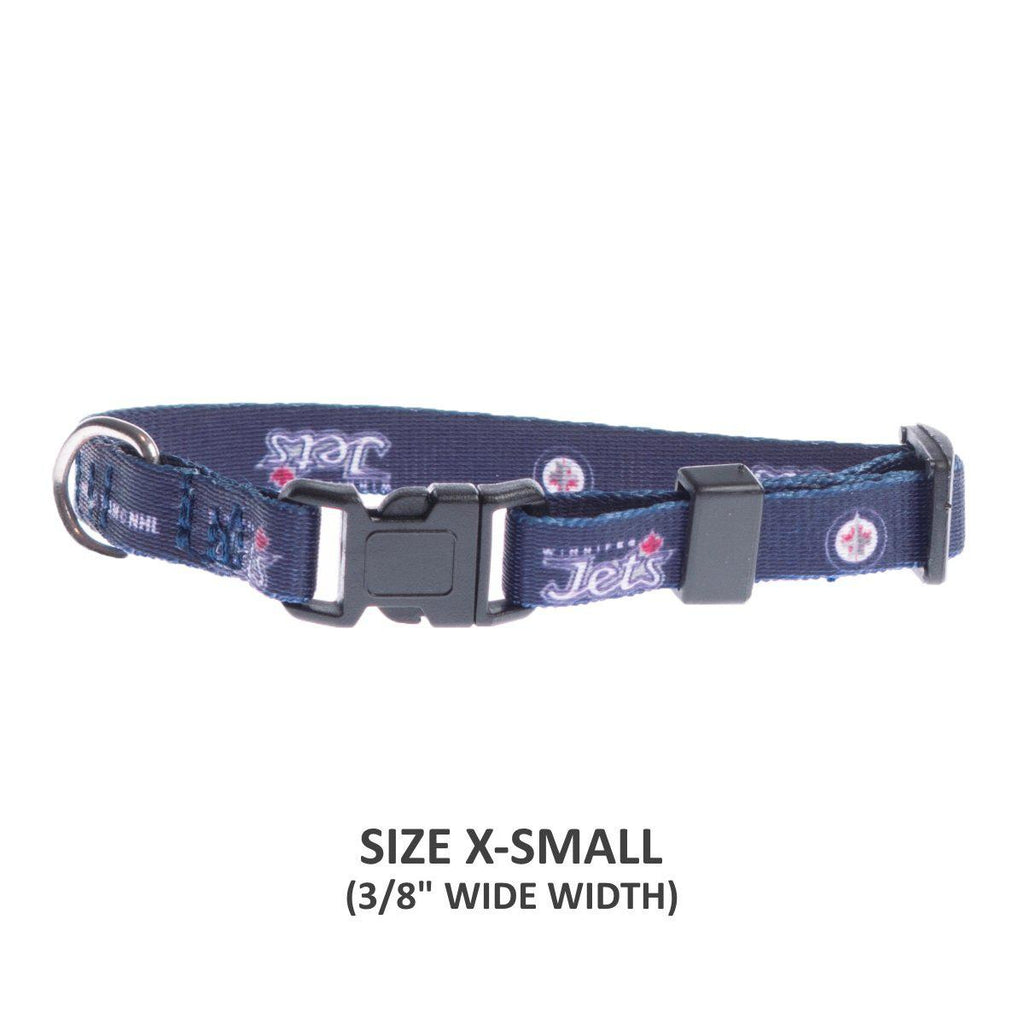 Winnipeg Jets Pet Nylon Collar - Furry Friend Frocks