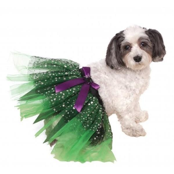 Witch Tutu With Stars Pet Costume - Furry Friend Frocks