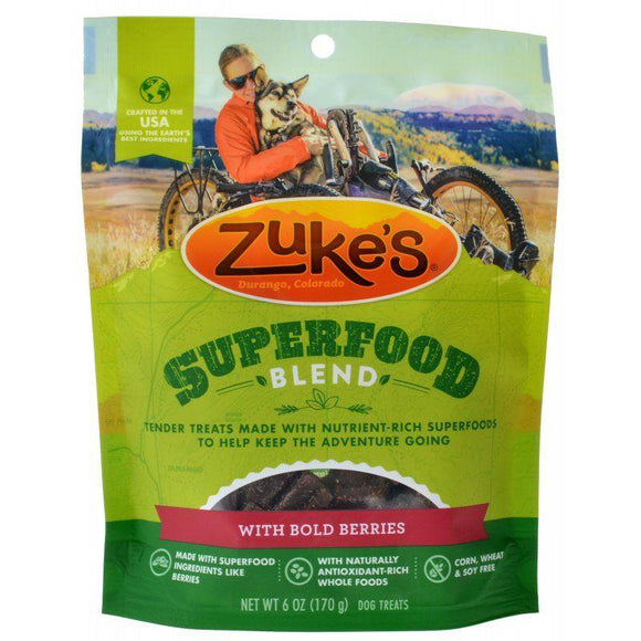 Zukes Superfood Blend with Bold Berries-Made in the USA Dog Treats-Furry Friend Frocks