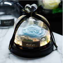 Load image into Gallery viewer, Midnight Rose in Glass Dome