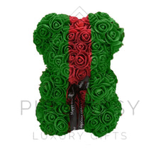 Load image into Gallery viewer, Gucci Inspired Rose Bear