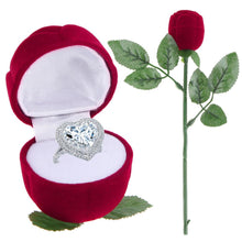 Load image into Gallery viewer, Rose Ring Box- Make a proposal
