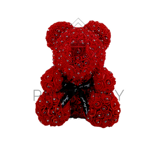 Luxury Diamond Rose Bear Gift