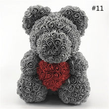 Load image into Gallery viewer, 40CM Rose Bear with Heart