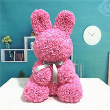Load image into Gallery viewer, Bunny Rose Bear