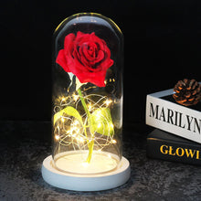 Load image into Gallery viewer, Enchanted Forever Rose In Glass