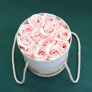 Rose Bouquet Box in Basket