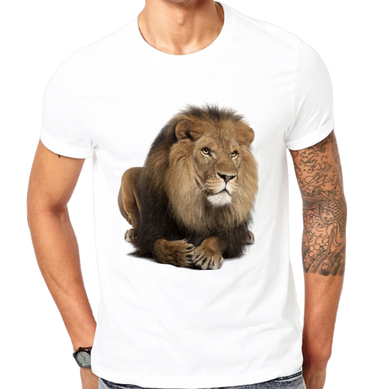 T-shirt Lion <br>Le King