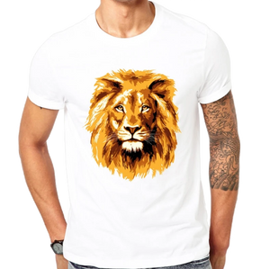 T-Shirt lion<br>Or