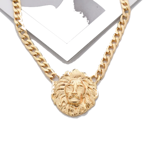 Collier Lion Or