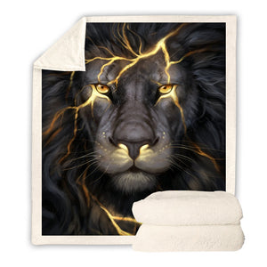 Plaid 127/152 Lion