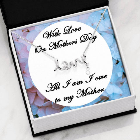 mothers day love necklace
