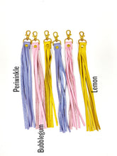 Load image into Gallery viewer, NEW CLIP Long Tassel Keychain
