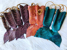 Load image into Gallery viewer, Leather Mermaid Purse for Kids