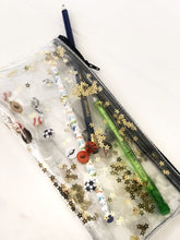 Load image into Gallery viewer, Play Ball!  Pencil Pouch Clear