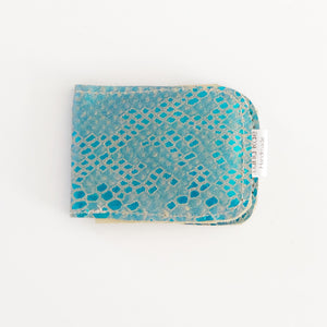 Leather Minimalist Mermaid Wallet