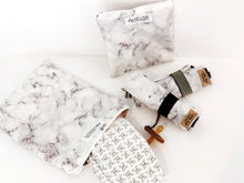 Load image into Gallery viewer, Marble Wet Bags Black & White